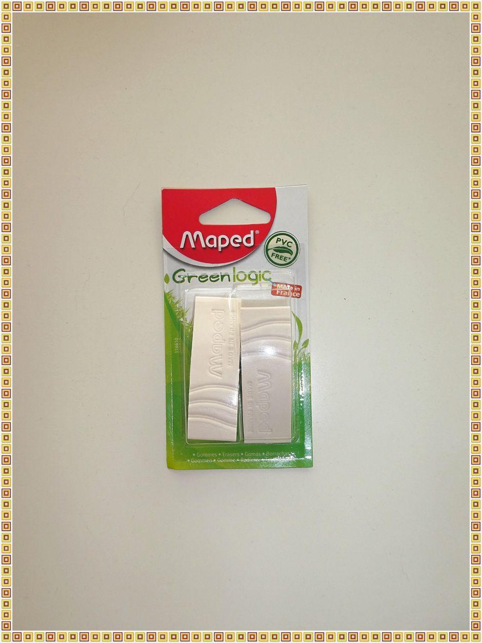 Productos de papelería a buen precio en Bratislava: Pack de dos gomas de borrar