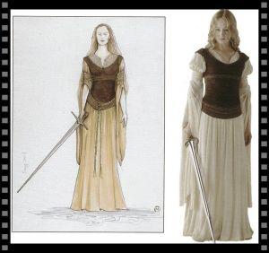 Cómo vestir a tu secundaria: Éowyn