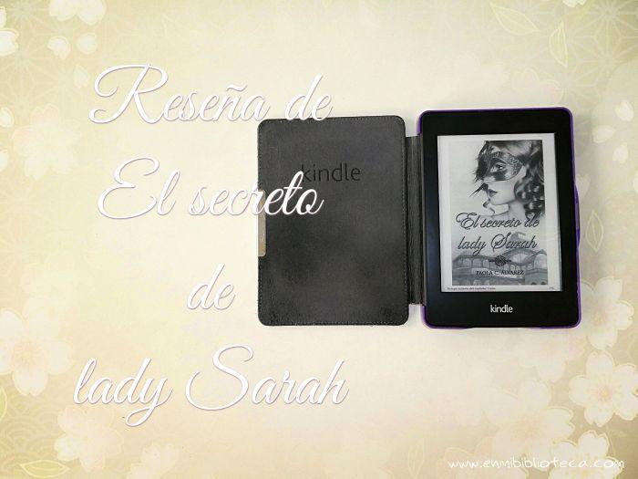 Cubierta de El secreto de lady Sarah