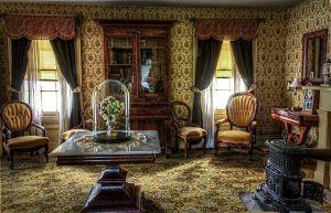 Reseña de El secreto de lady Sarah: sala de estar