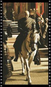 Cómo vestir a tu secundario: Tywin Lannister a caballo