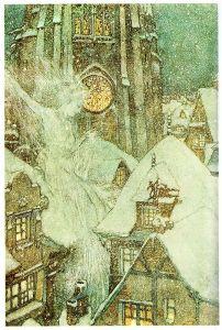 9 (más 3) tipos de hadas y criaturas feéricas: La Reina de las Nieves