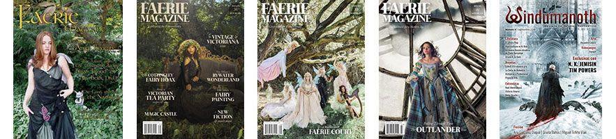 Book haul & Wrap up de septiembre 2018: revistas Faerie y Windumanoth
