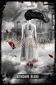 Book tag de Halloween: cubierta de Anna vestida de sangre