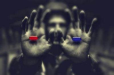 Reseña de Imposible pero incierto: pastilla roja o pastilla azul