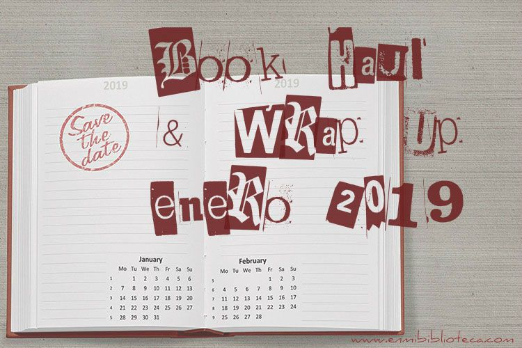 Book haul & Wrap up de enero 2019