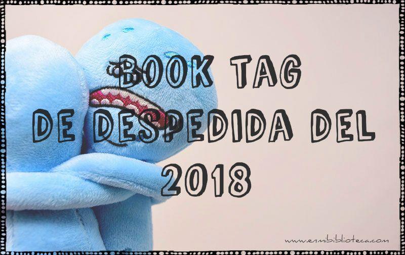 Book tag de despedida del 2018: dos muñecos abrazándose