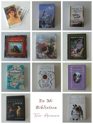 Feliz Tercer Cumpleblog: selección de libros