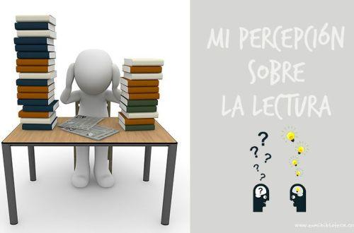 Mi percepción sobre la lectura: imagen principal