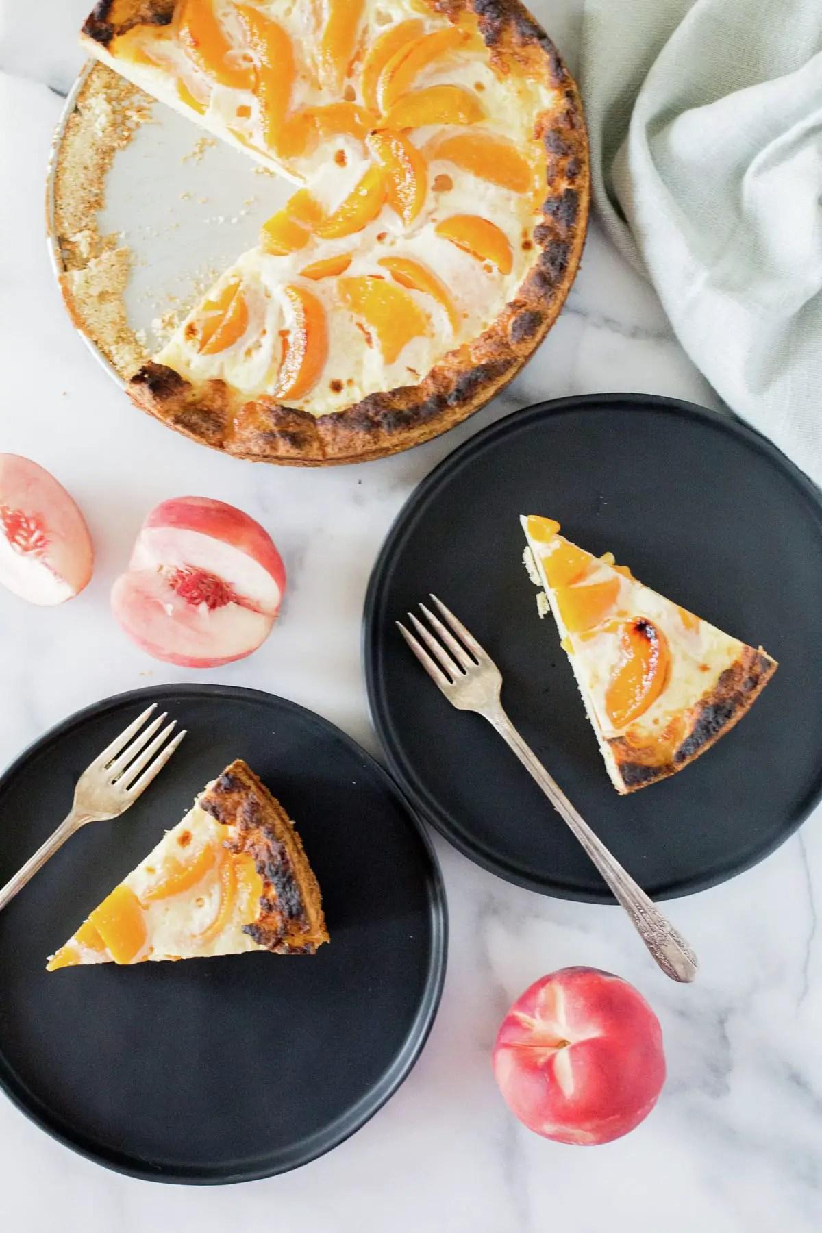 Peach Kuchen En Mi Cocina Hoy