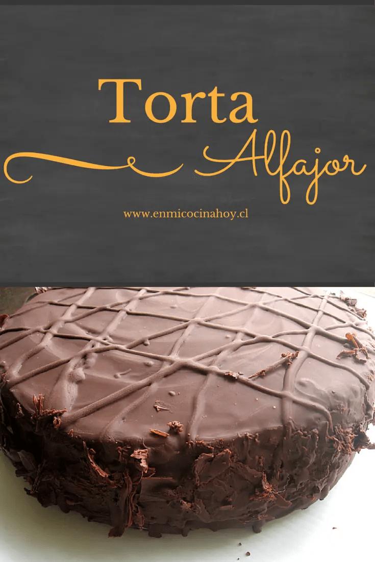 Chocolate Alfajor Cake  En Mi Cocina Hoy