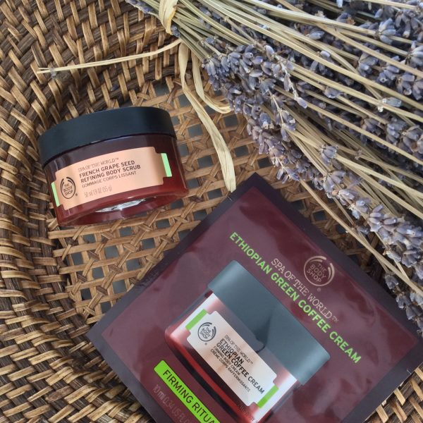 test gommage lissant spa of the world the body shop