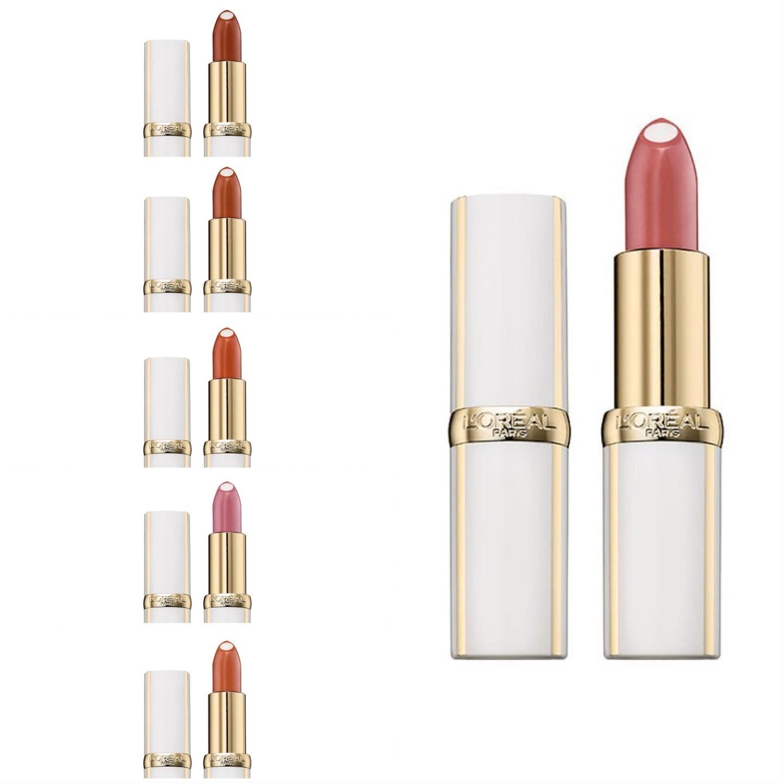 teintes rouge à lèvres âge perfect de l'Oréal
