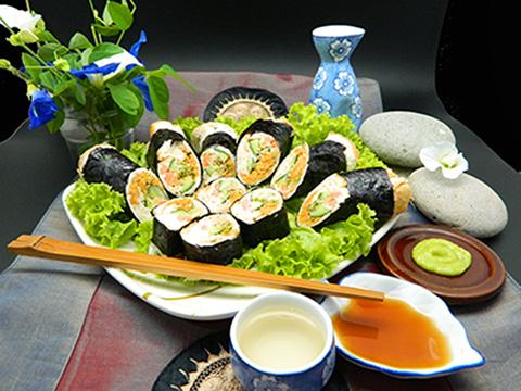 蔬菜面包寿司 Vegetarian Sushi Roll