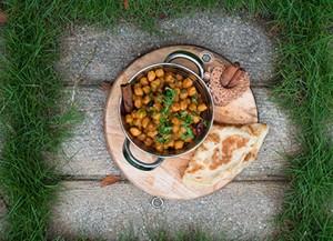 香辣鹰嘴豆 Chickpeas Curry 2