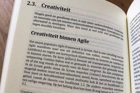 Over creativiteit binnen Agile