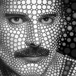 Ben Heine Freddie Mercury