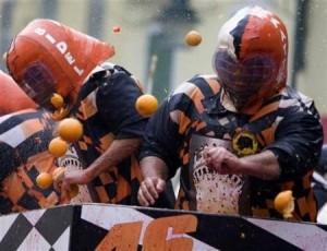La bataille des Oranges