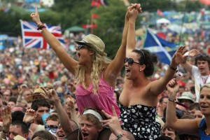 Glastonbury Festival de musique , Angleterre