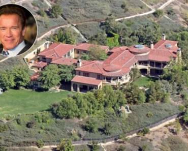 Arnold Schwarzenegger's Californian mansion