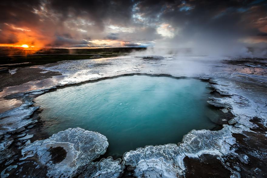 Des photos  extraordinaires  des  Geysers en Islande