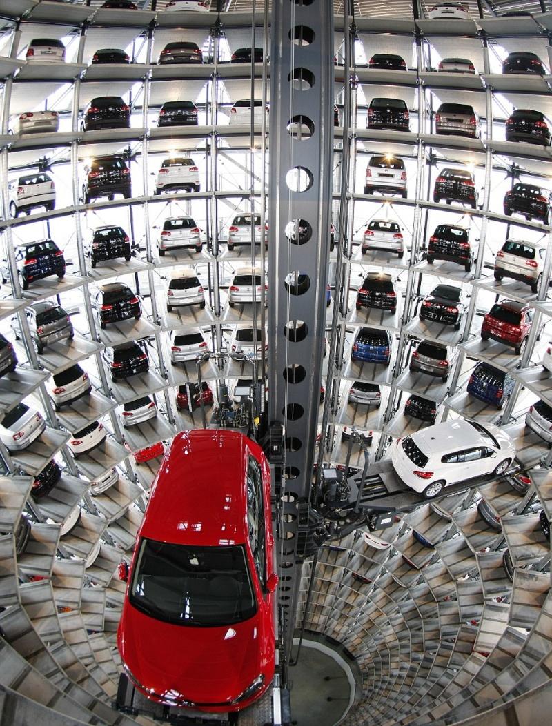 L'incroyable parc de haute technologie Volkswagen à Wolfsburg