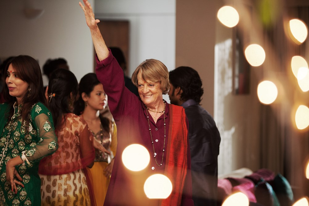 THE SECOND BEST EXOTIC MARIGOLD HOTEL, Maggie Smith, 2015. ph: Laurie Sparham/TM & copyright © Fox Searchlight. All rights reserved