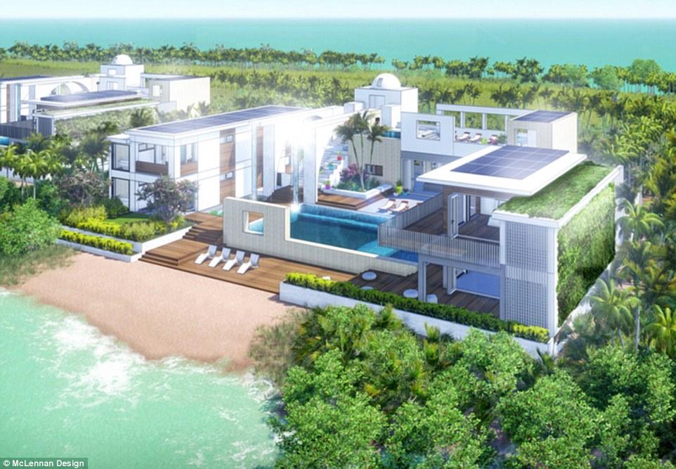 Leonardo Dicaprio et L'île Belize