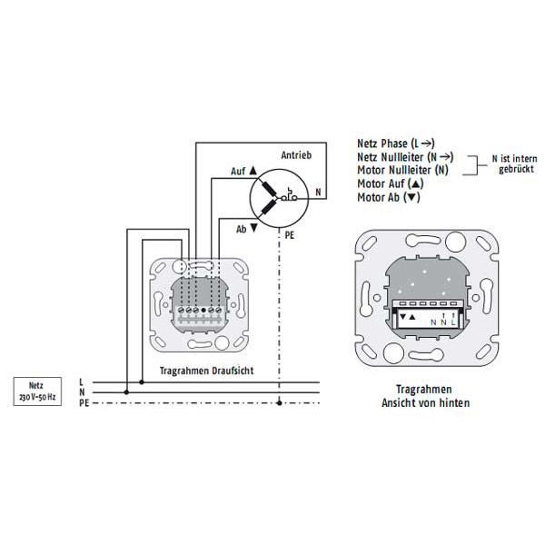 Anschluss Elektrisches Schema Portal Somfy