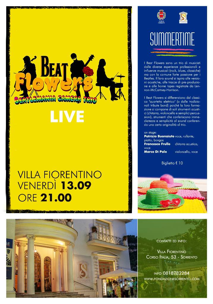 Beat Flowers live