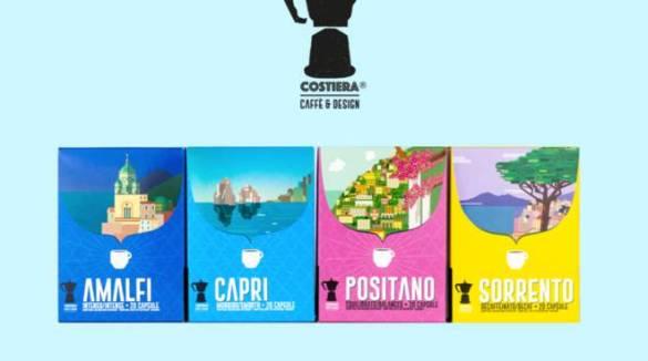 Nasce Costiera Caffè & Design, una nuova esperienza di caffè ispirata alla Costiera Amalfitana.