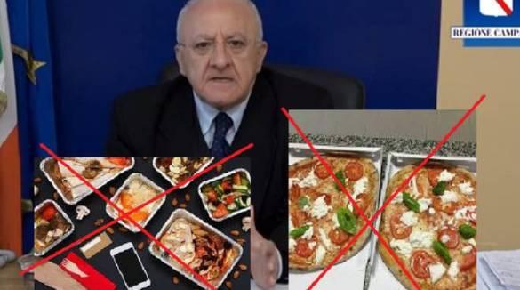 """Food delivery , solo in Campania è vietato portare la pizza a domicilio """"Danni  per le nostre attività , rispetto il resto d' Italia"""""""