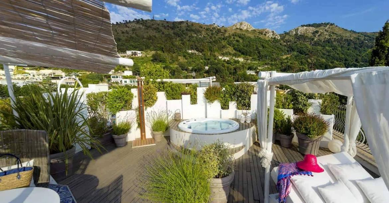 inaugurazione dell'Hotel Vill Blu Capri