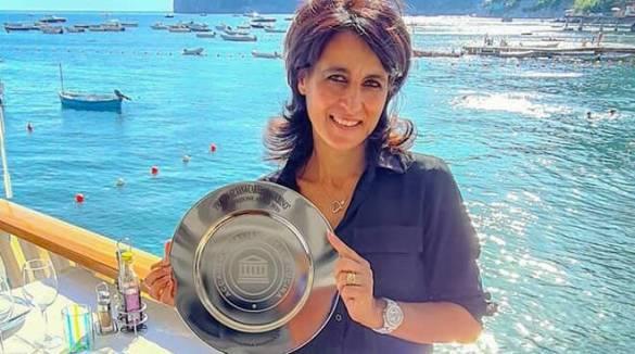 Massa Lubrense, Giovanna Fontana la titolare del Cantuccio a Nerano premiata dall'Accademia italiana della cucina