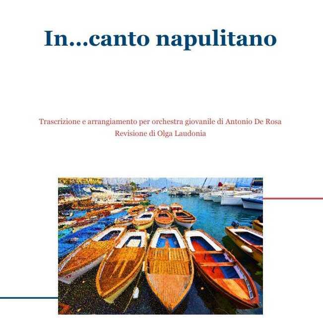"""""""In...canto napulitano"""": le canzoni classiche napoletane di Antonio De Rosa e Olga Laudonia"""