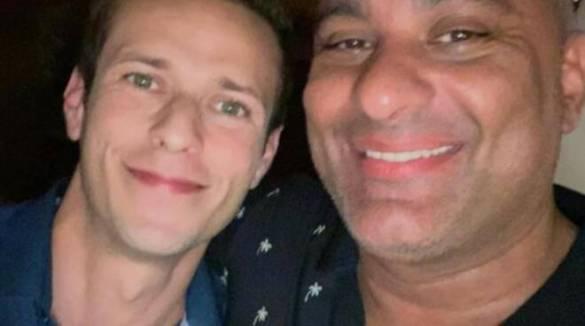 Da Positano alla Florida: Cosimo Picci con il comico Russell Peters