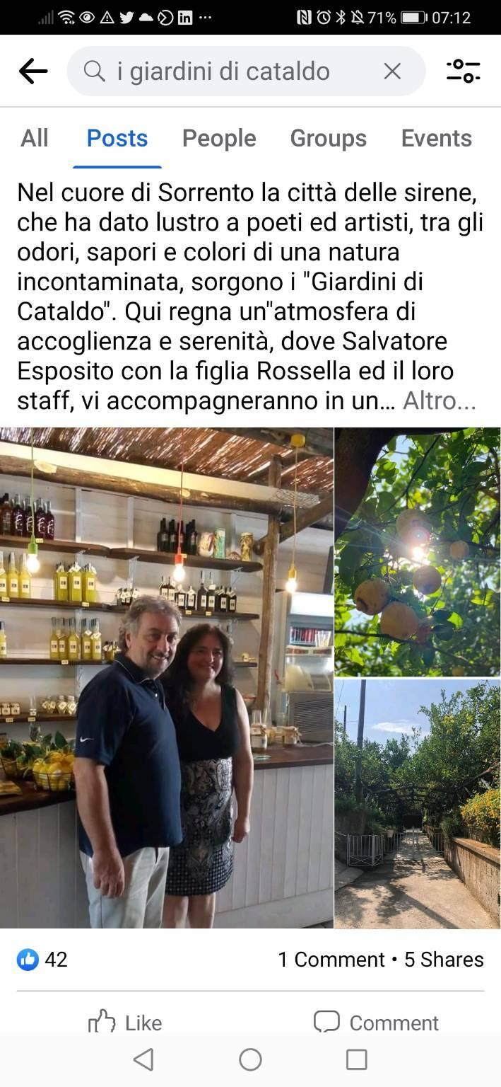 Annarita Fontanarosa Giardini di Cataldo Sorrento