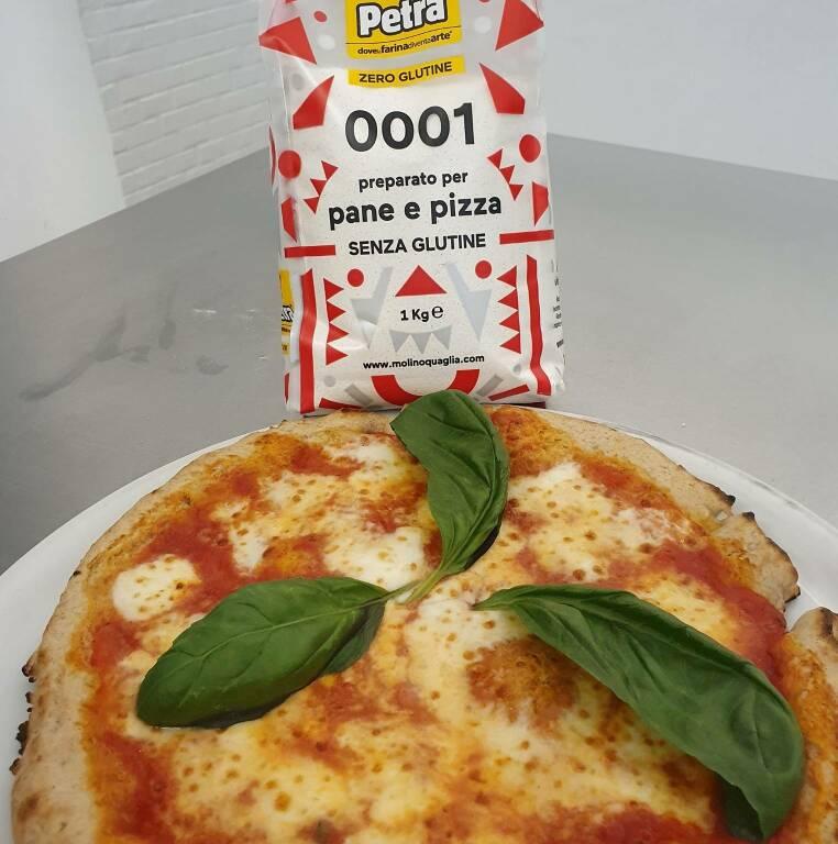 Pizza senza glutine celiaca