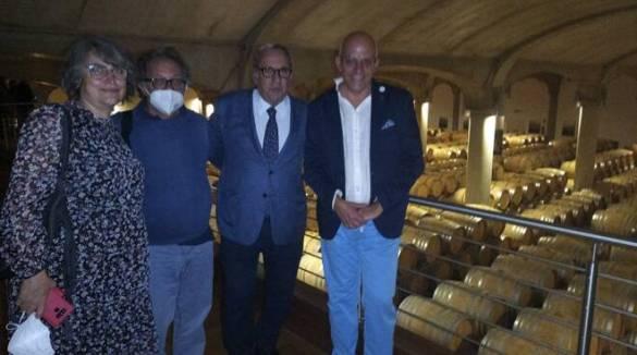 Donnafugata , vino , storia e cultura, simbolo della Sicilia nel mondo. La visita di Positanonews con l'ANSO per Glocal