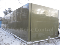 Modular Acoustical Panels for Sound Enclosures and Walls