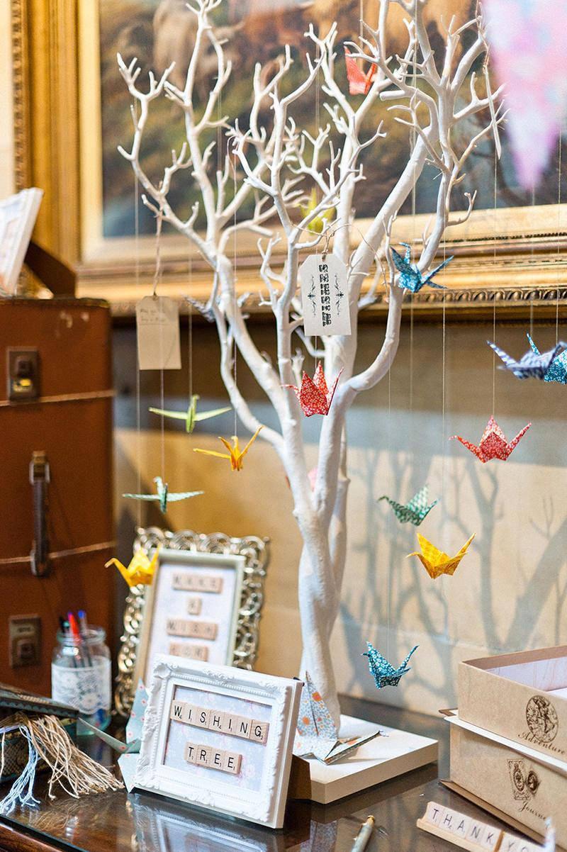 28 ideias fofas de decorao de casamento com origami