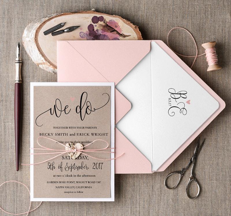 35 ideias de convites de casamento clssicos para voc se
