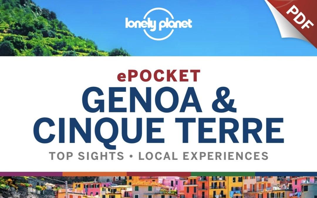 """Forse non sai che il 1 febbraio è uscita, in versione inglese, la guida Pocket """"Genoa & Cinque Terre"""". Ecco a te la lista dei migliori ristoranti."""
