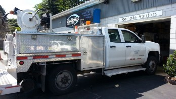 Repair to Camera System on Fleet Truck for Lawrence Park Client