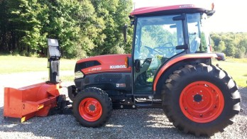 Winter Tunes for Kubota Tractor from Greene Township