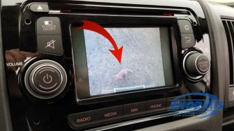 Ram Promaster Backup Camera