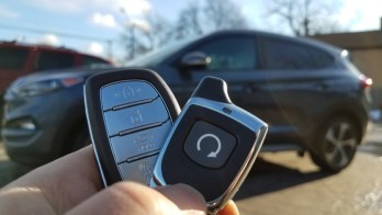 Hyundai Tucson Remote Starter and Accessories For Fairview Client