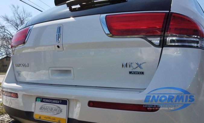 Lincoln MKX Backup Camera
