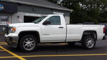 East Erie HVAC Contractor Adds GMC Sierra Power Windows
