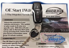 Ford Explorer Remote Starter
